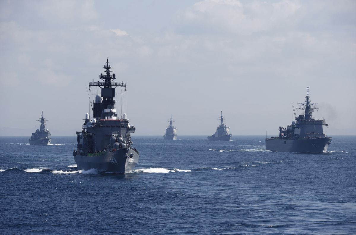 Japan Spars With South Korea Over Multilateral Naval Drills