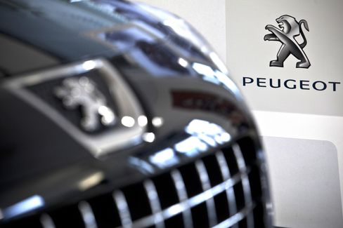 Fiat Joins Peugeot in Gains as Investors See Second-Half Boost