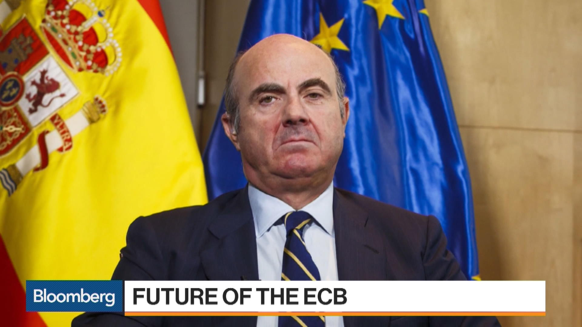 Spain S Luis De Guindos Nominated For Ecb Vp Role Says Official