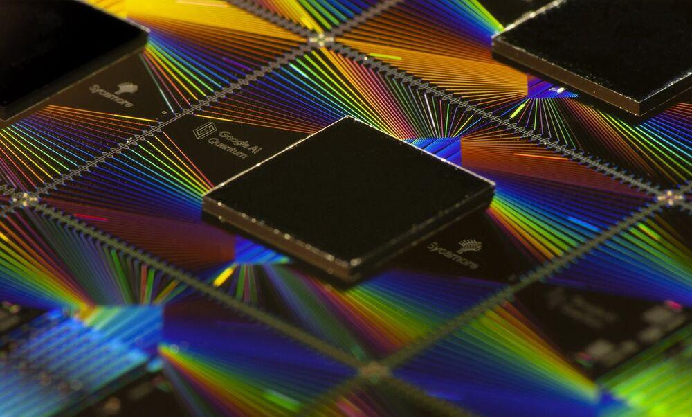 Google's Sycamore processor.