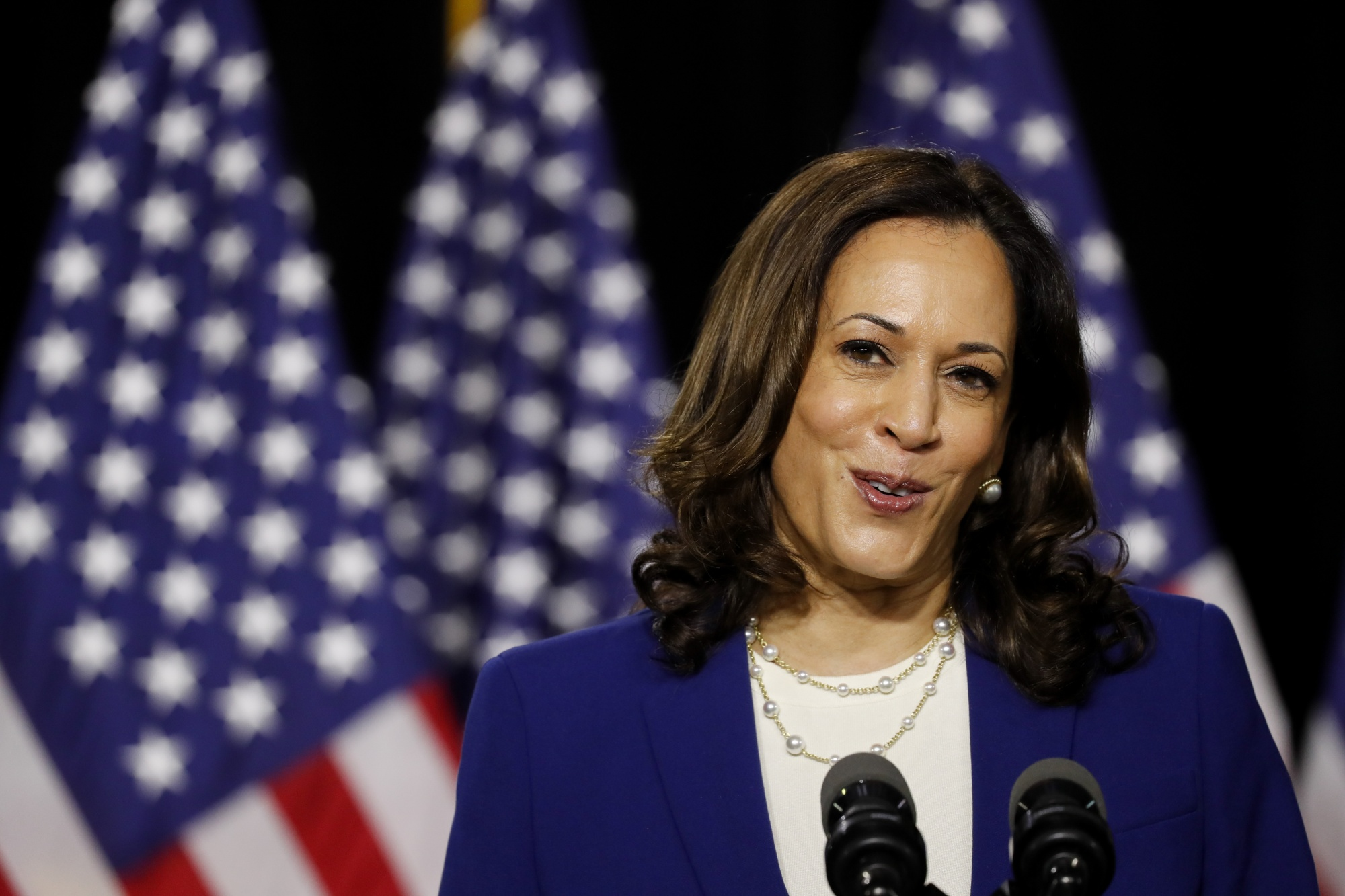 Wall Street Democrats Rejoice At Biden S Pick Of Kamala Harris Bloomberg