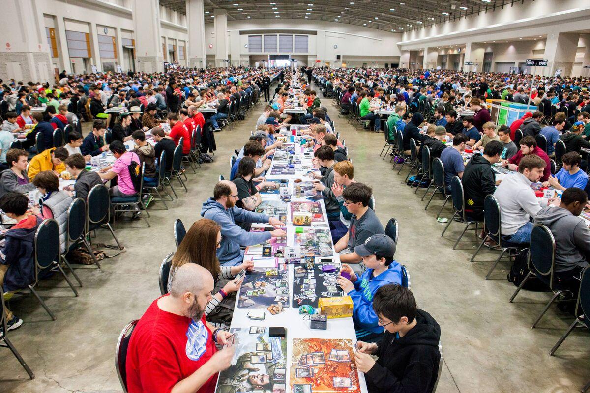 Inside a Massive 'Magic: The Gathering' Grand Prix Tournament ...