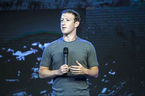 Zuckerberg at the Internet.org summit in New Delhi.