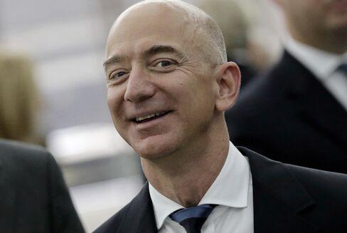 Jeff Bezos, chief executive officer Amazon.com Inc.
