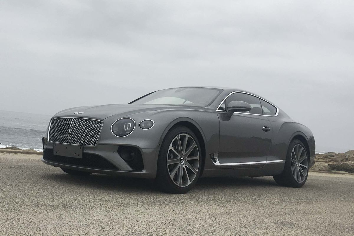 2019 bentley continental gt review: a thug in a savile row suit