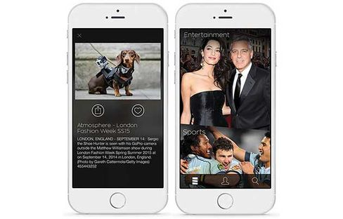 Getty Images Stream iPhone app