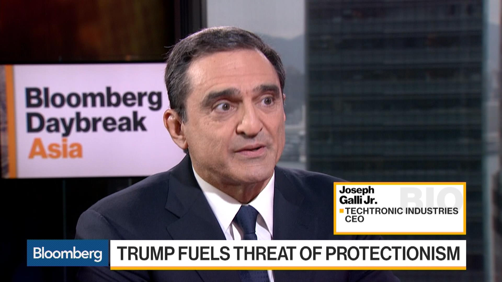 Techtronic Industries CEO Says Very Confident About 2017 Bloomberg