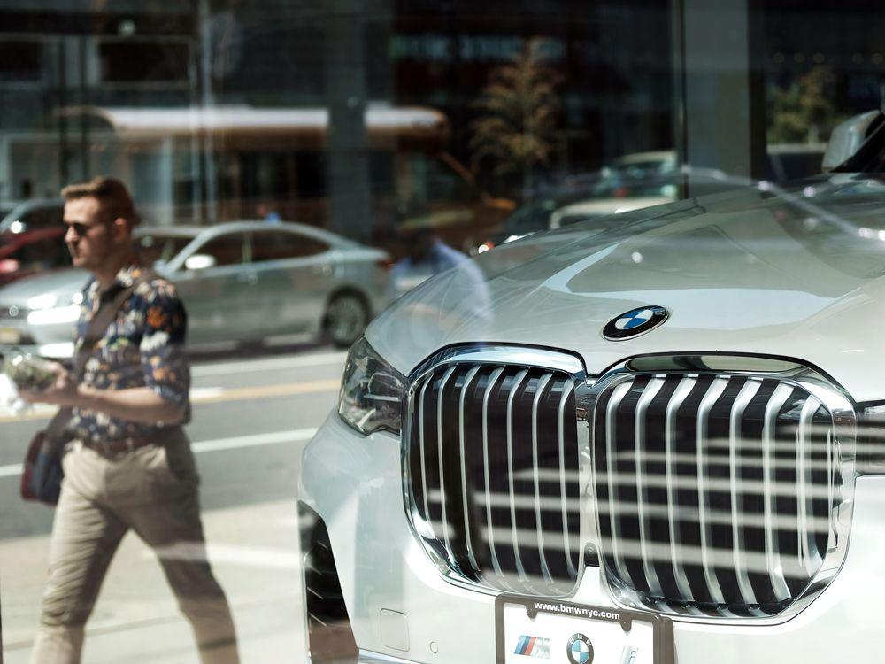 What Auto Slump Bmw Sees Another Record Year For Car Sales