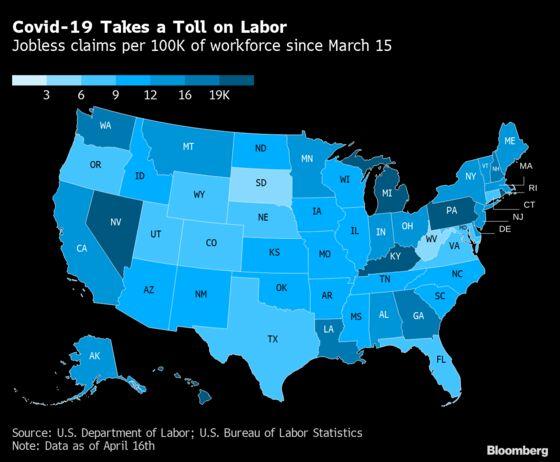 U.S. Jobless Claims Top 5.2 Million, Erasing Decade of Job Gains