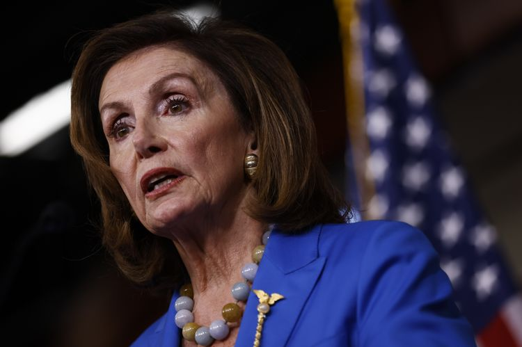 House Speaker Pelosi Holds Weekly News Conference