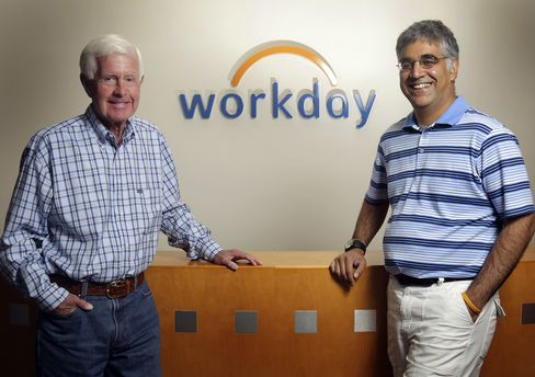 Workday Files to Raise Up to $546 Million in Public Offering