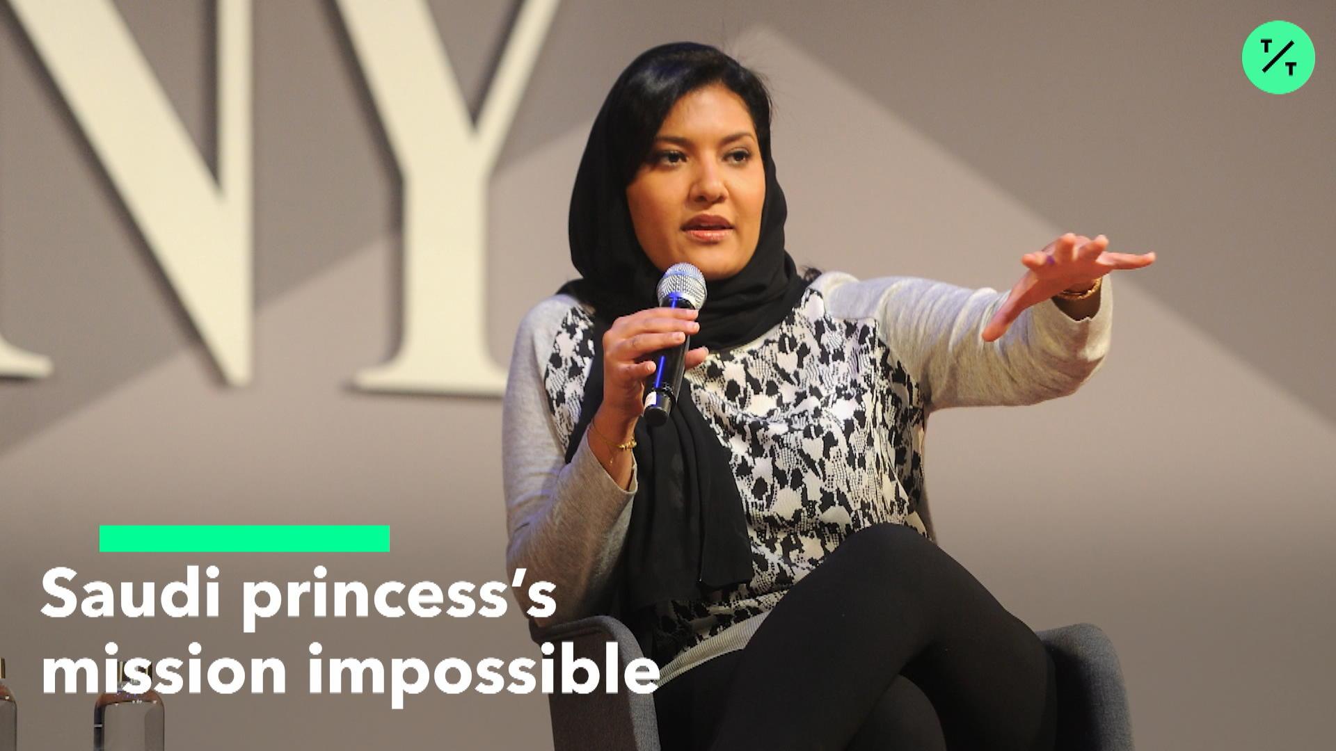 Saudi Princess Reema Has Impossible Job as New U S