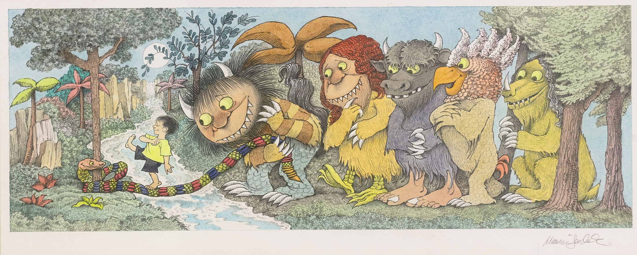 maurice sendak  Sotheby's Maurice Sendak Exhibition: Most Expensive Lots - Bloomberg