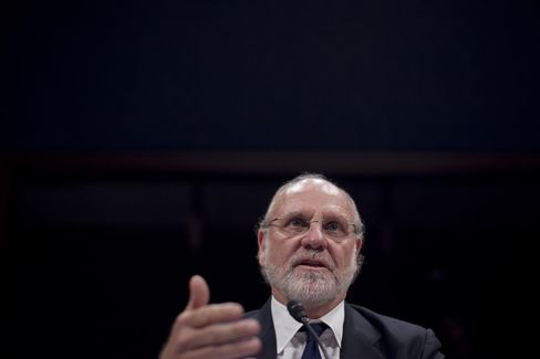 Former MF Global Chairman and CEO Jon Corzine