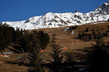 The French ski resort of Meribel.