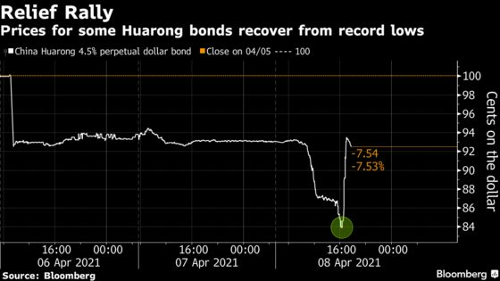 HuarongPlans Asset Sales toAvoid Debt Restructuring