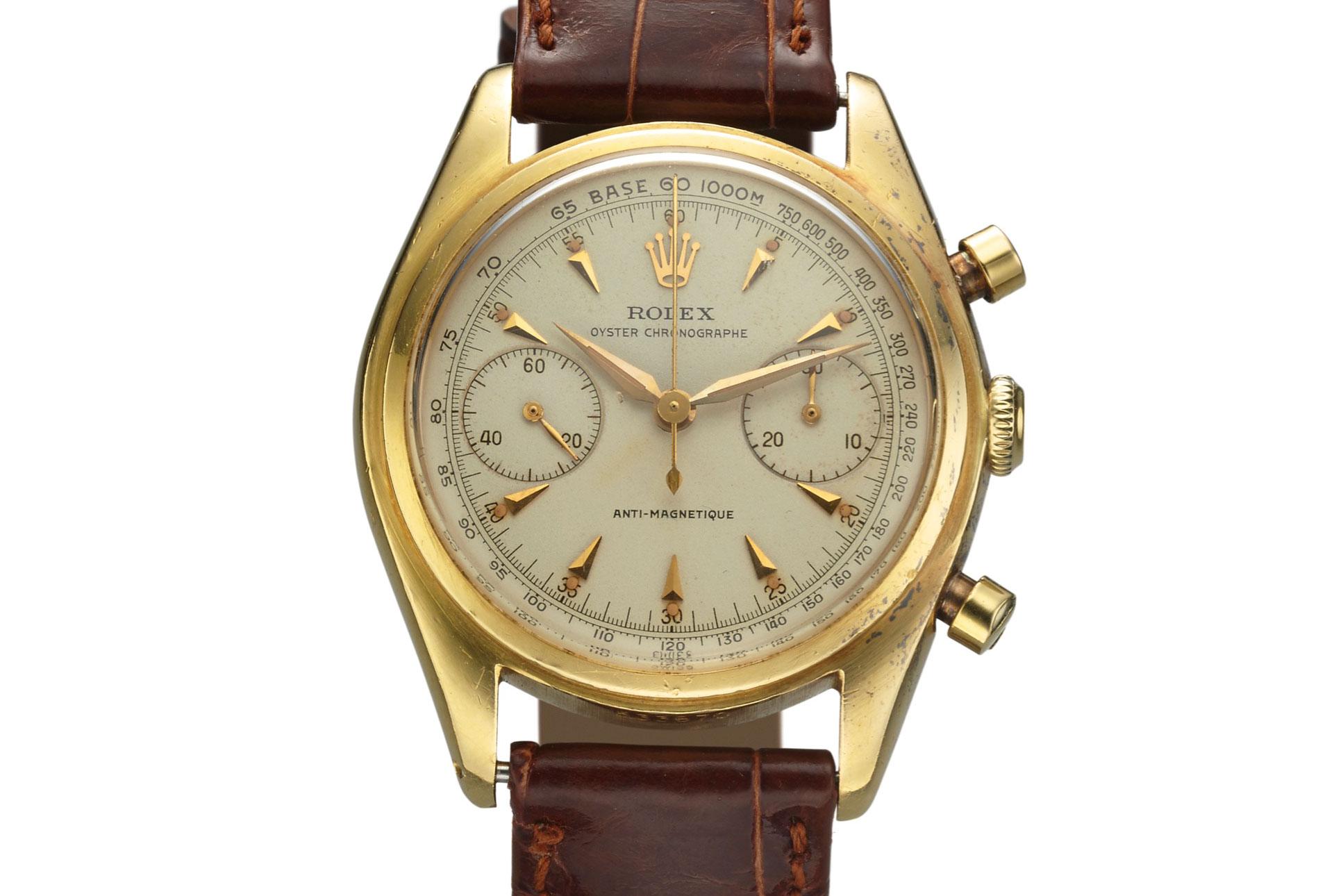 Rolex Ref. 4500 Chronograph (Lot 250)