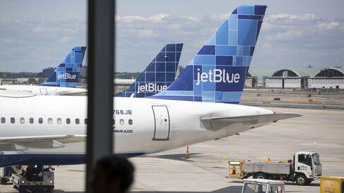 Inside JFK's JetBlue Airways Corp. Terminal