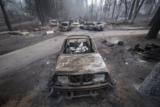 PG&E Offers New Details on Tower at Heart of Camp Fire Probe