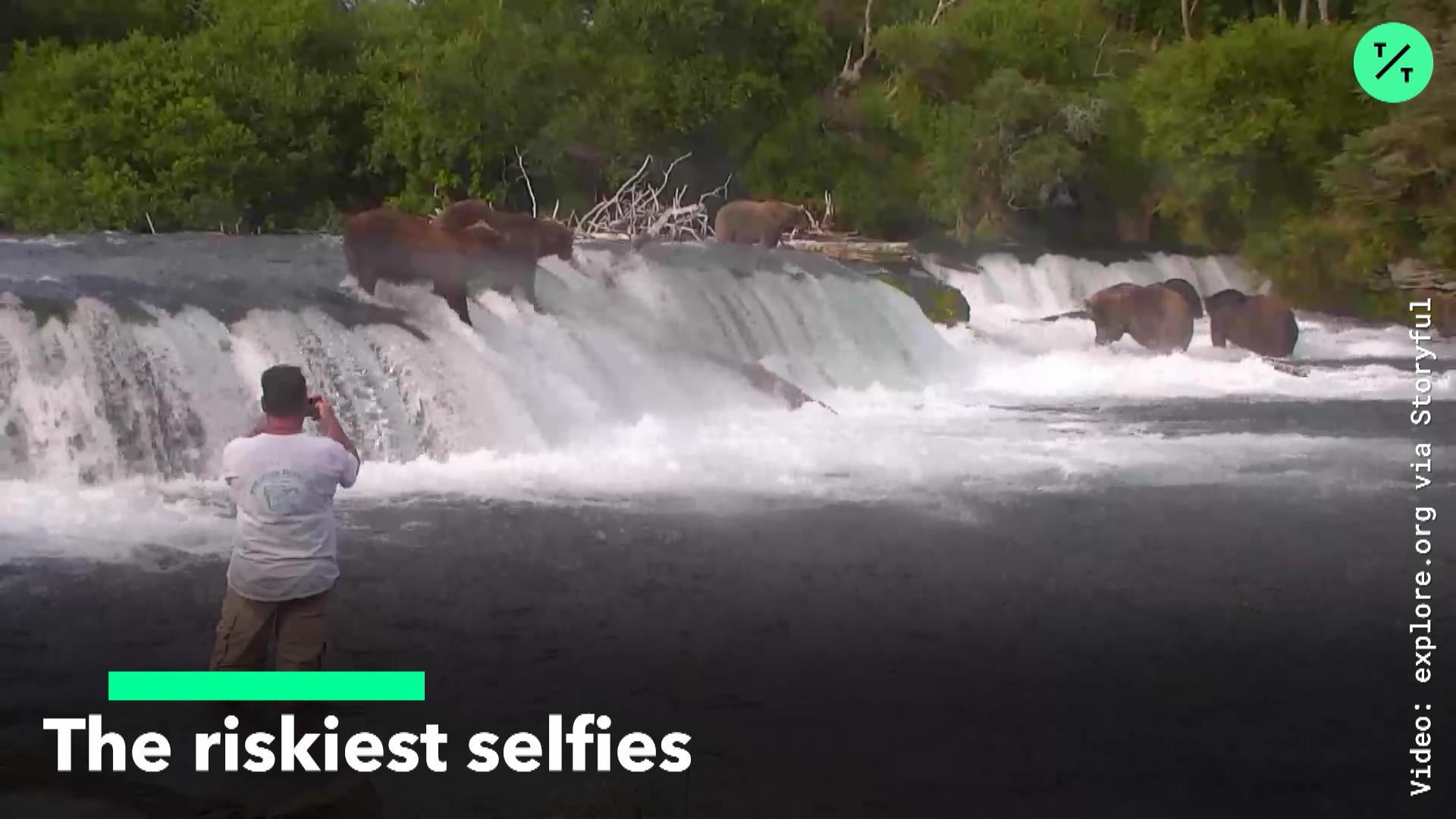 The Riskiest Selfies