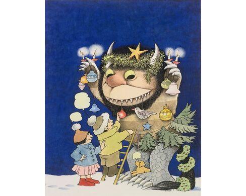 Maurice Sendak:Wild Thing Christmas Tree, 1976