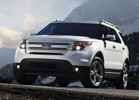 The Redesigned 2011 Ford Explorer