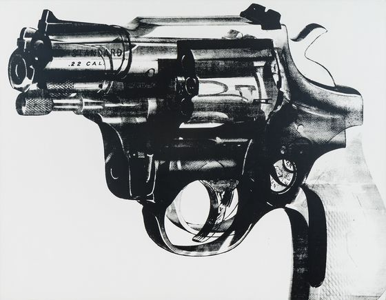 Andy Warhol's 'Gun'IsOffered by Star Adviser at Auction