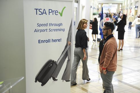 You can enroll in PreCheck at the airport, before your next flight.