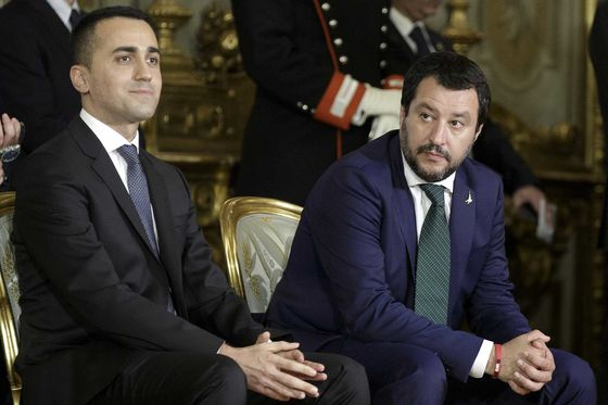 Italy's Populists Are Picking a Fight With Brussels Over Austerity