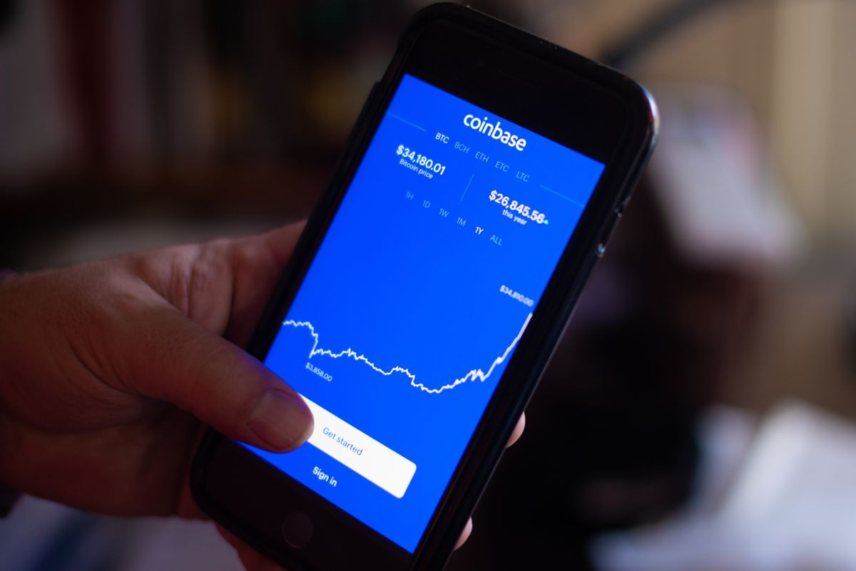 Coinbase Coin Listing Should You Buy Stock As Bitcoin Btc Surges Bloomberg