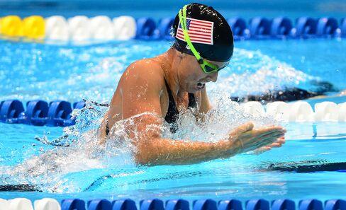 Seven-times Olympic Medalist Amanda Beard