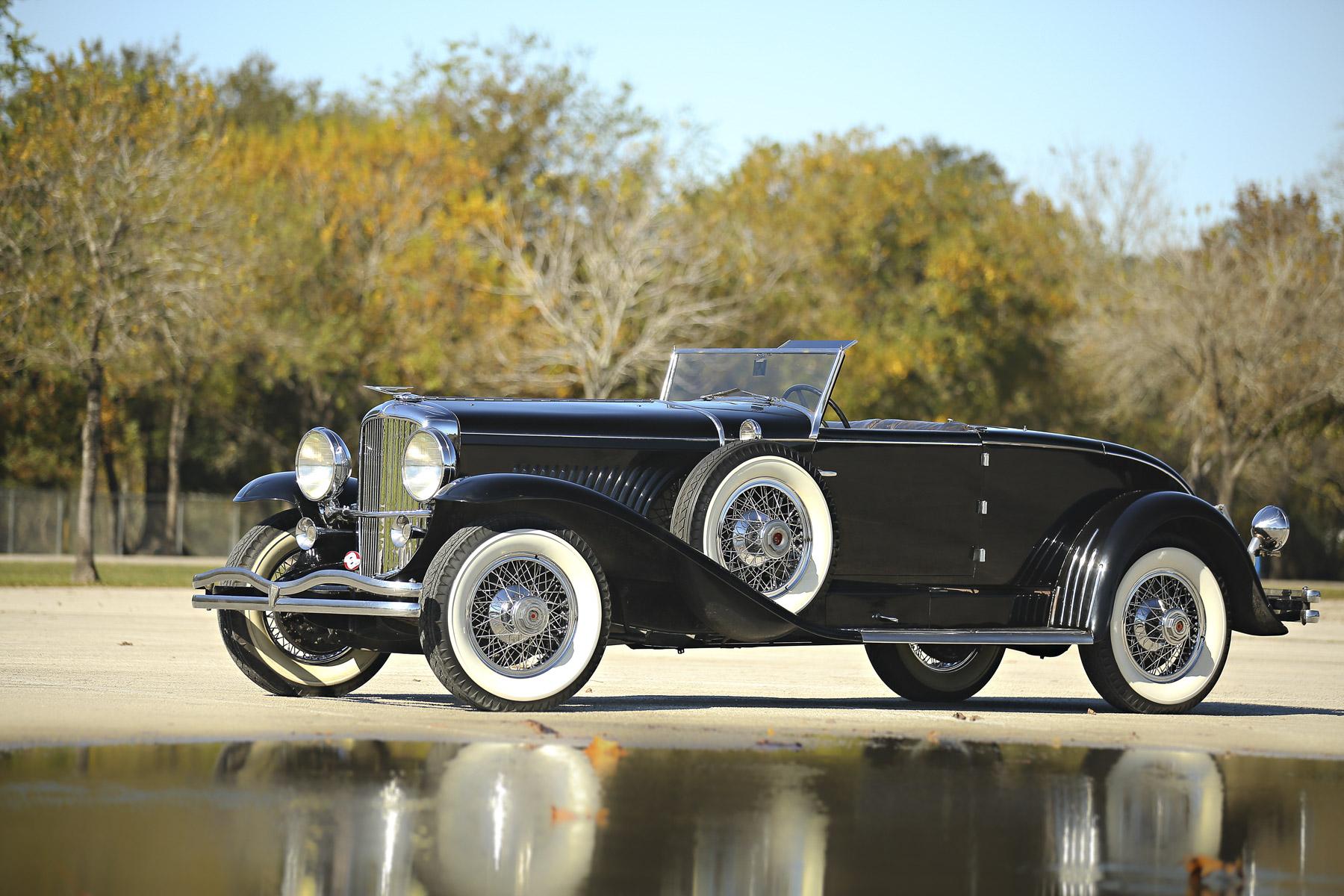$2,640,000— 1931 Duesenberg Model J Murphy Convertible Coupe
