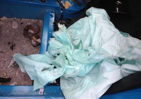 Takata Ruptured Air Bag