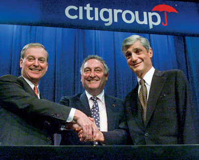 In October 1999, Rubin joined Citigroup, with co-CEOs John Reed and Sandy Weill
