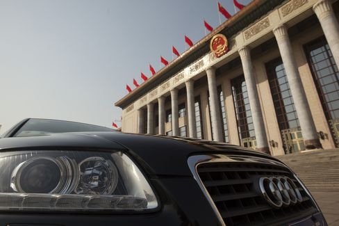 Audis Trump Patriotism for China's Elite as Local Brands Falter