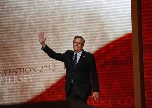 ormer Florida Gov. Jeb Bush speaks at the Washington Marriott Wardman Park Hotel, November 20, 2014 in Washington, DC.