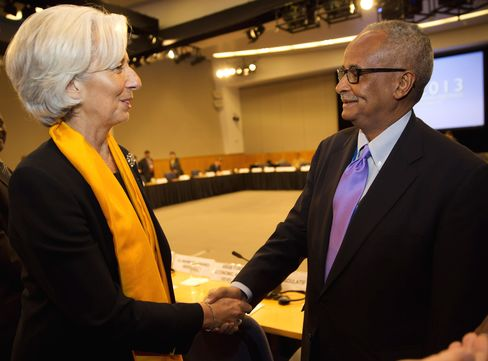Somalia's Former Central Bank Governor Abdusalam Omer
