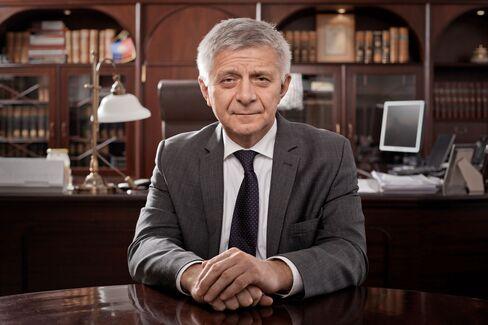 Central Bank Governor Marek Belka