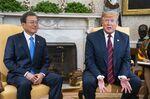 President Trump Hosts South Korean President Moon Jae-In At The White House