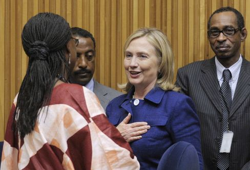 Clinton Says African Economies Would Fail Without Women