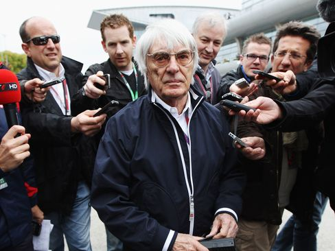 Bernie Ecclestone, chief executive officer of Formula One Management and Formula One Administration, is fighting a long-running legal dispute.