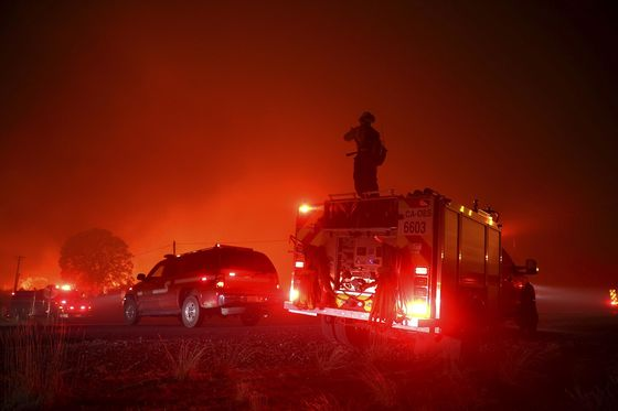 California Fires Exhaust 10,000-Strong Army Fighting Them