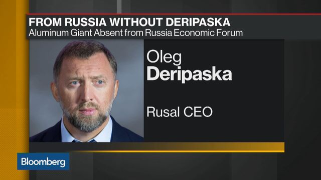 Deripaska Steps Down as Director of Russian Aluminum Giant Rusal