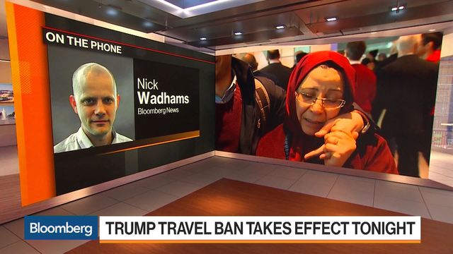 Protesters rally against Trump's travel ban at Tampa International airport