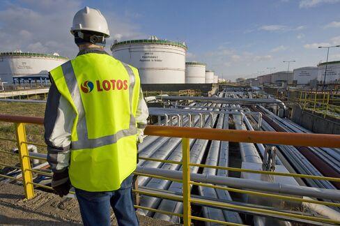 Lotos Oil Refinery