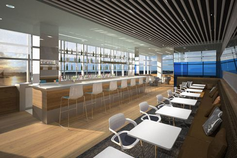 An Airport Lounge for the Masses