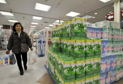 Toilet Paper in a Tokyo Store
