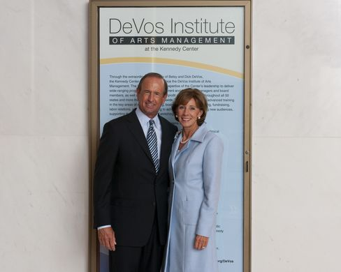 Dick and Betsy DeVos