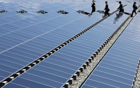 Japan's Richest Man Challenges Nuclear Future With Solar Pla