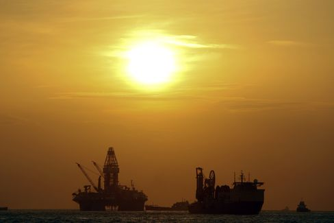 BP Plc Macondo well site in the Gulf of Mexico